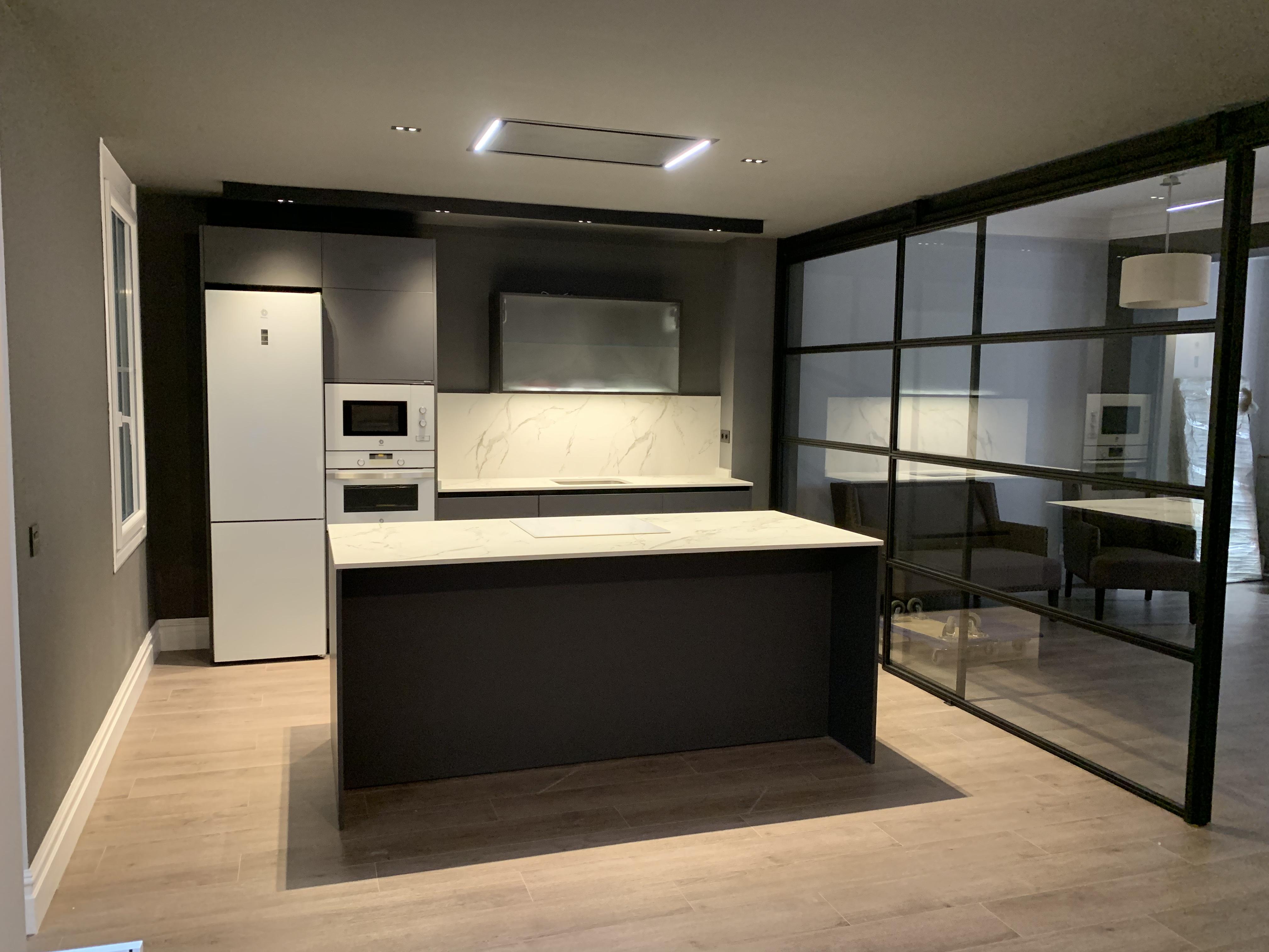 cocina con isla - cocinas de diseño